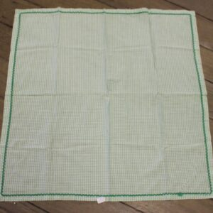Supper Cloth – Green & White Gingham