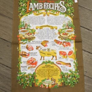 Teatowel – Lamb Recipes