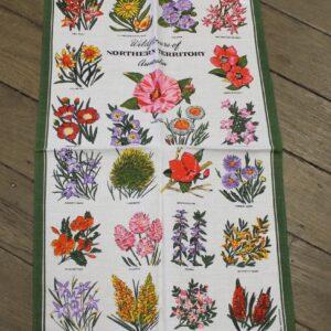 Teatowel – Wildflowers, Northern Territory