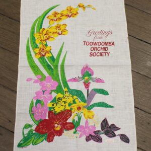 Teatowel – Toowoomba, QLD (Orchid Society)