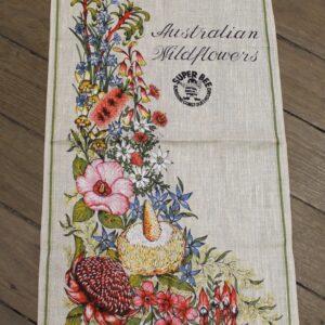 Teatowel – Wildflowers, QLD (Super Bee Honey)