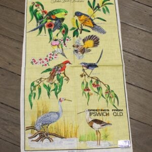 Teatowel – Ipswich (Birds)