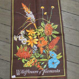 Teatowel – Tasmania (Wildflowers)