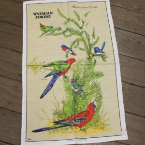 Teatowel – Watagan Forest, NSW (Birds)