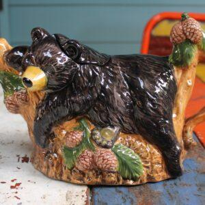 Black Bear Teapot