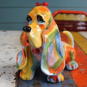 Bloodhound Dog Teapot