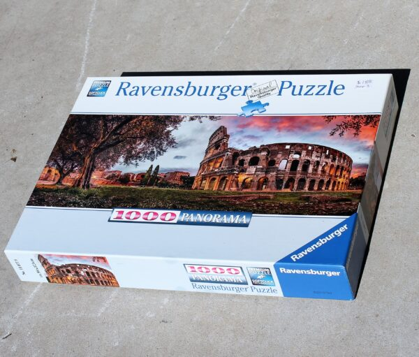 morpeth antique centre hunter valley ravensburger jigsaw puzzle one thousand pieces colosseum rome roma italy