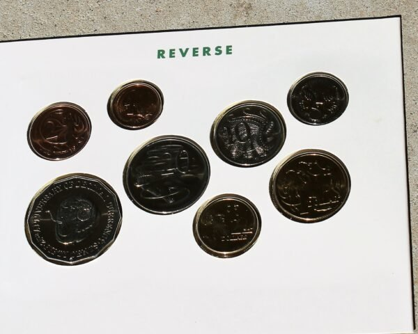 morpeth antique centre hunter valley australian coin set 1991 25th anniversary decimal currency rams head
