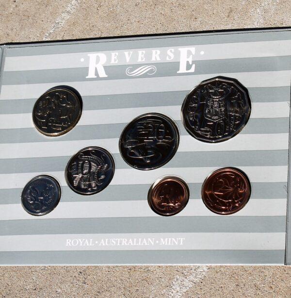 morpeth antique centre hunter valley australian coin set 1987