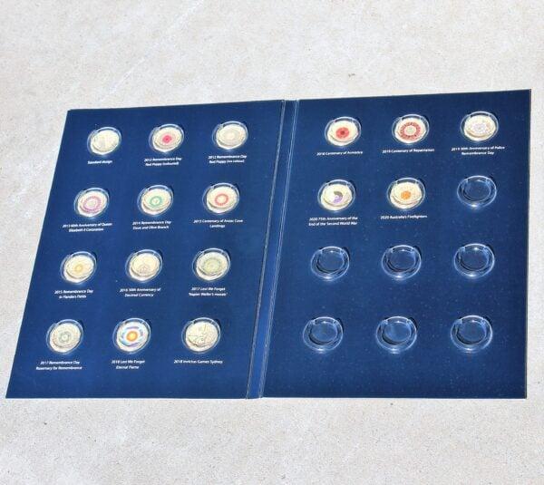 morpeth antique centre hunter valley australian coin album two dollar folder