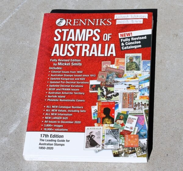 morpeth antique centre hunter valley australian stamps of renniks valuation identification book guide resource