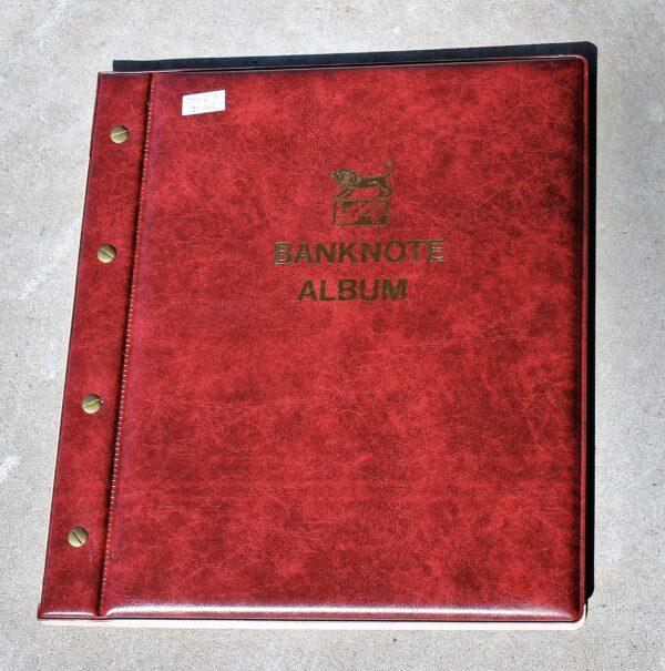 morpeth antique centre hunter valley banknote album