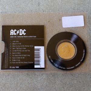 AC/DC Twenty Cent – Back in Black