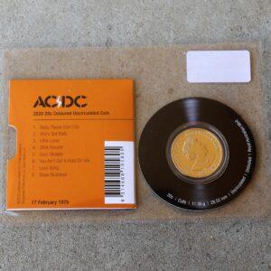 AC/DC Twenty Cent Coin – High Voltage