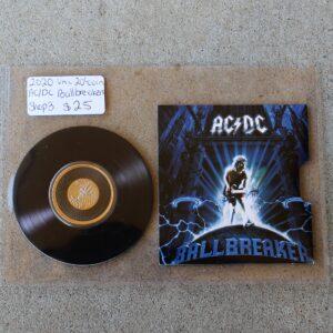 AC/DC Twenty Cent Coin – Ballbreaker