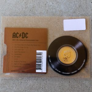 AC/DC Twenty Cent Coin – For Those About to Rock