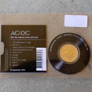 AC/DC Twenty Cent Coin – Dirty Deeds