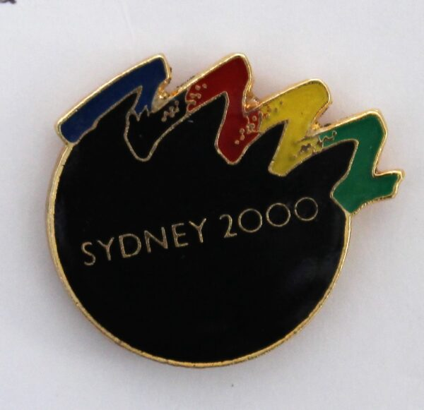 morpeth antique centre hunter valley sydney olympics 2000 commemorative pin best games ever