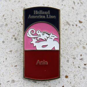 Badge – Holland America Line Asia