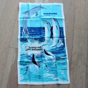 Teatowel – Port Macquarie (Dolphins)