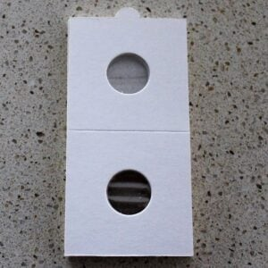 Self Adhesive Coin Mounts – 17.5mm for 1c & 3d Coins
