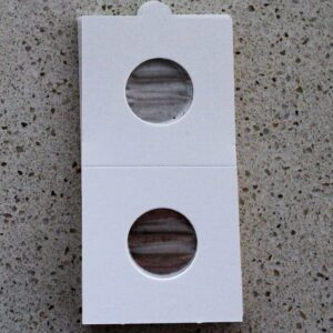 Self Adhesive Coin Mounts – 20mm for Five Cent & Sixpence