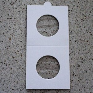 Self Adhesive Coin Mounts – 25mm for Ten Cent & Shillings