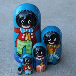 Matryoshka Doll – Golli Blue