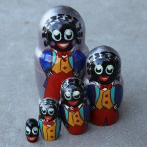 Matryoshka Doll – Golli Silver