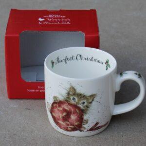 Wrendale Mug – Purrfect Christmas (Cat)