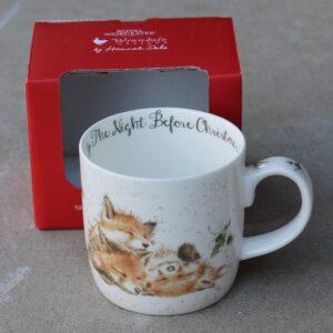 Wrendale Mug – The Night Before Christmas (Fox)
