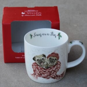 Wrendale Mug – Snug as a Pug