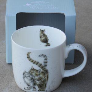 Wrendale Mug – Feline Fine (Cats)