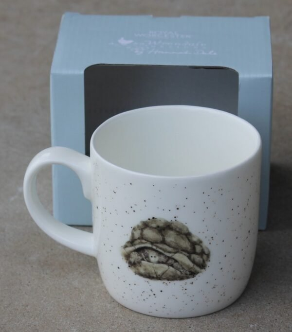 morpeth gift gallery hunter valley wrendale mug royal worcester fine bone china porcelain england india aged to perfection turtle tortoise galapagos Christmas