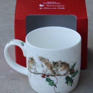Wrendale Mug – Winter Mice