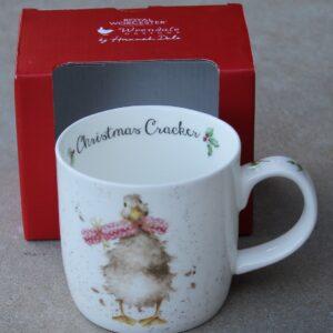 Wrendale Mug – Christmas Cracker (Duck)