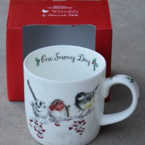 Wrendale Mug – One Snowy Day (Birds)