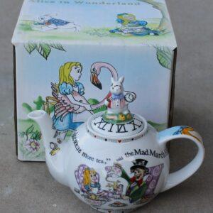 Teapot – Alice in Wonderland 2 Cup