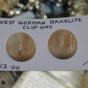 Clip On Earrings – Bakelite