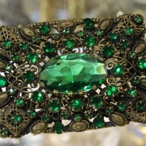 Vintage Brooch – Green