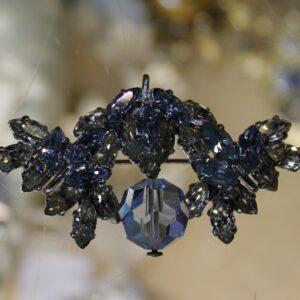 Crystal Brooch or Pendant