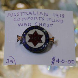 Australian Comforts Fund Badge