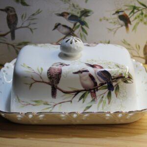 Butter Dish – Kookaburras