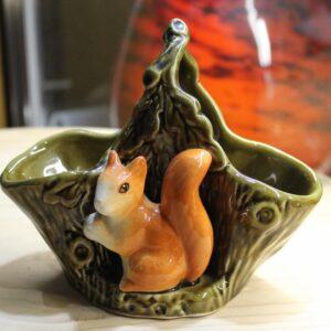 Sylvac Squirrel Basket