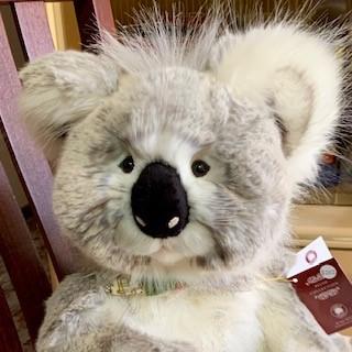 Morpeth Teddy Bears Charlie plush Hunter Valley Glen