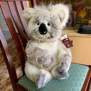 Morpeth Teddy Bears Charlie plush Hunter Valley large Glen