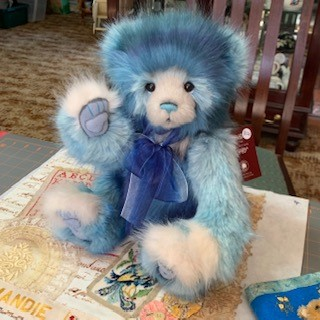 Morpeth Teddy Bears Charlie plush Hunter Valley Misty