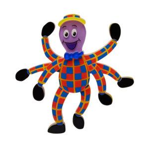 Erstwilder Brooch – Henry the Octopus