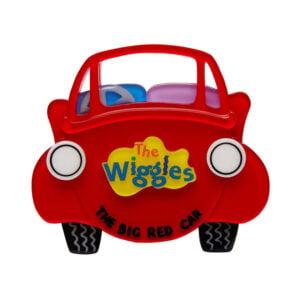 Erstwilder Brooch – The Big Red Car