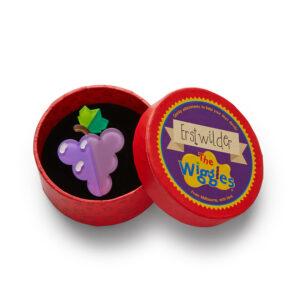 Erstwilder Brooch – Grapes